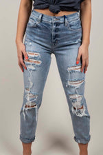 Rocky Super High Rise Boyfriend Jeans