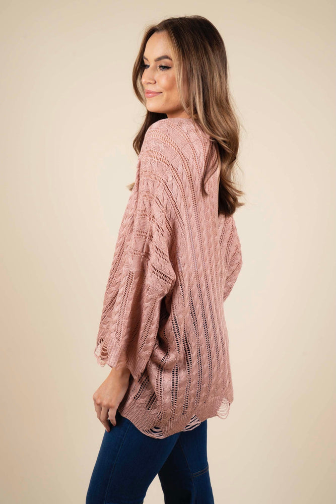 Close To You Sweater (Rose Dawn)