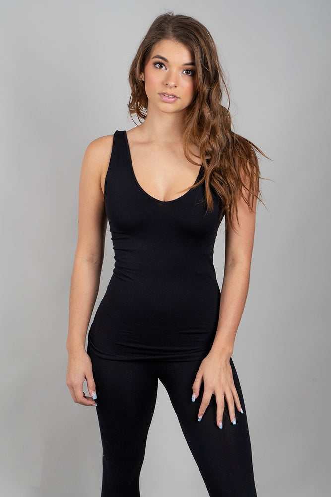 Into The Night Tank (Black)