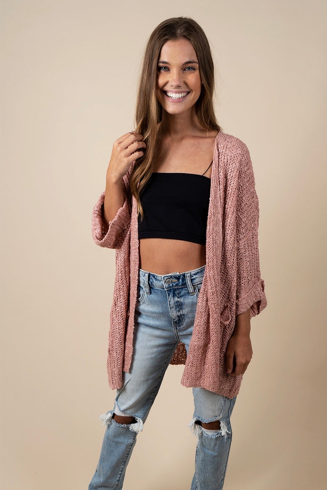 More Of This Cardigan (Mauve)