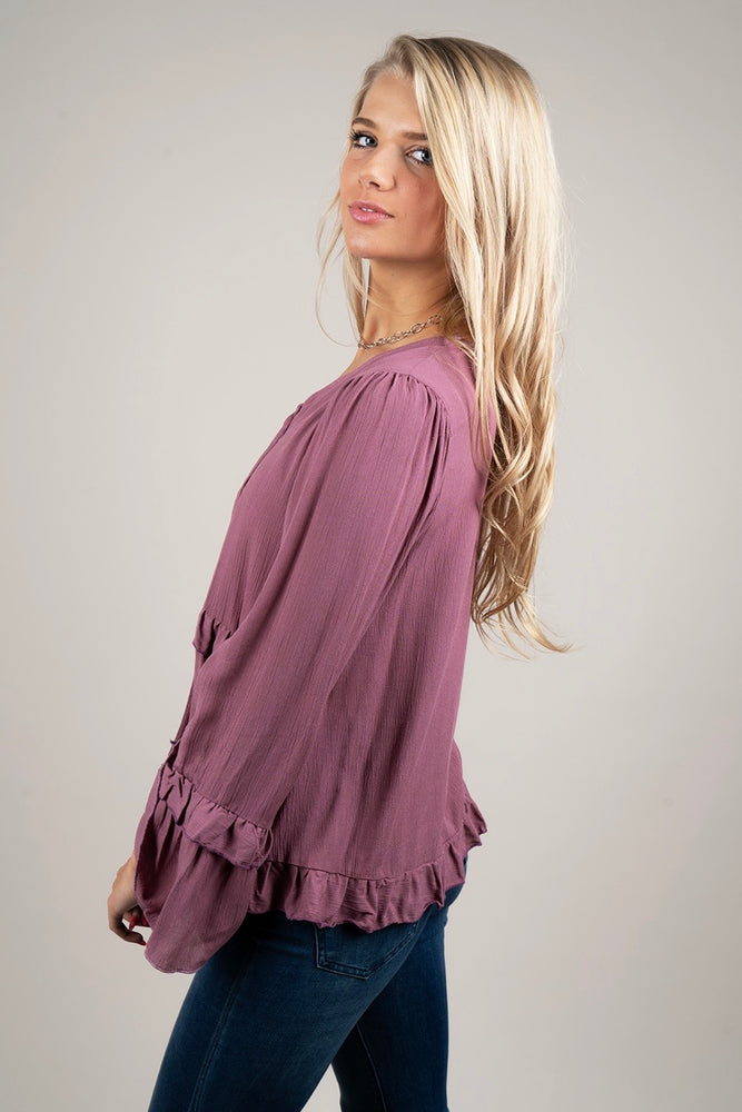 Into You Blouse (Berry)