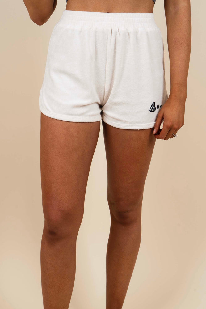 Butterfly Embroidered Shorts