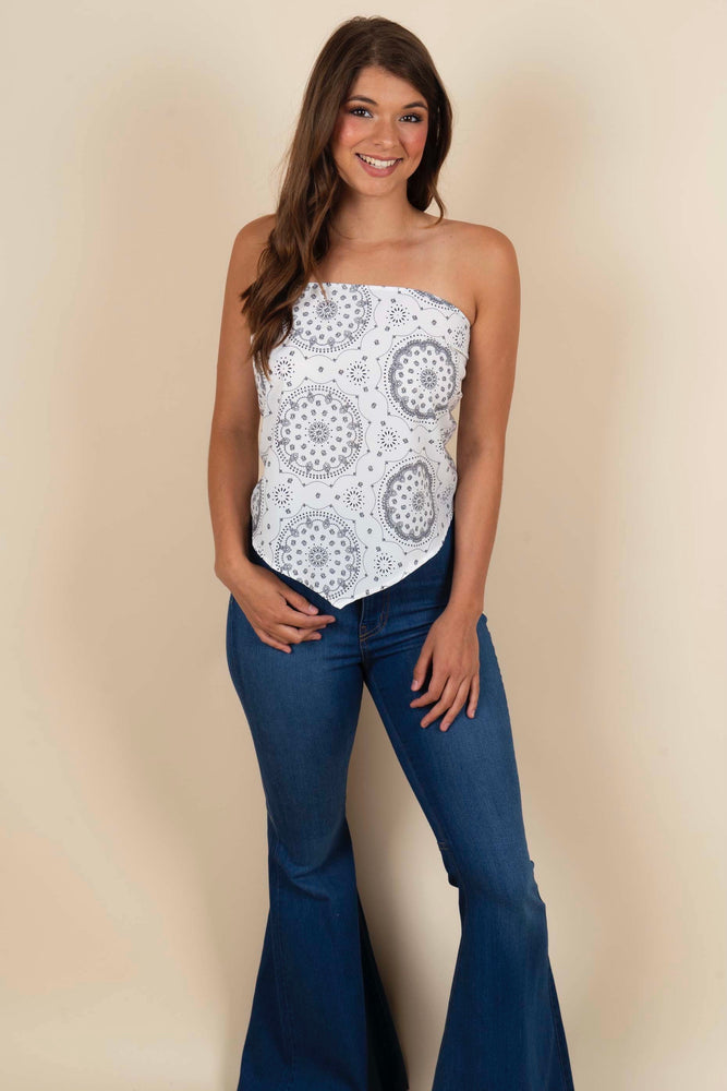 Until The Night Ends Bandana Top