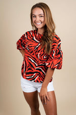 Eye Of The Tiger Blouse