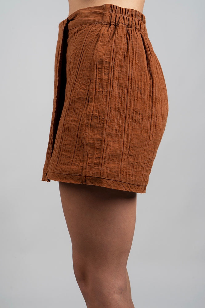 Half Of My Heart Skort (Camel)