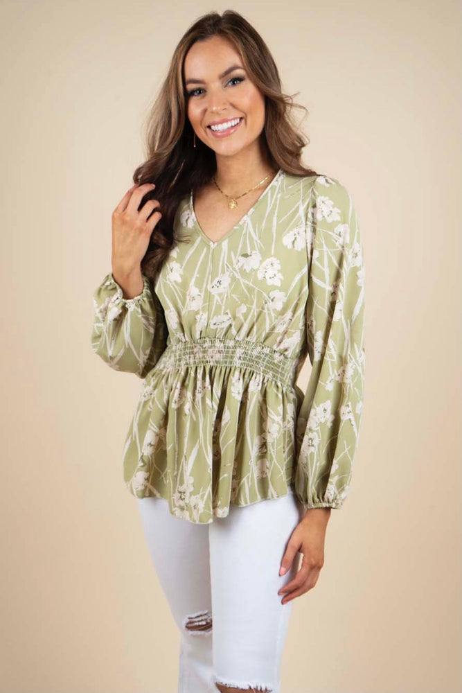 Loving On You Blouse