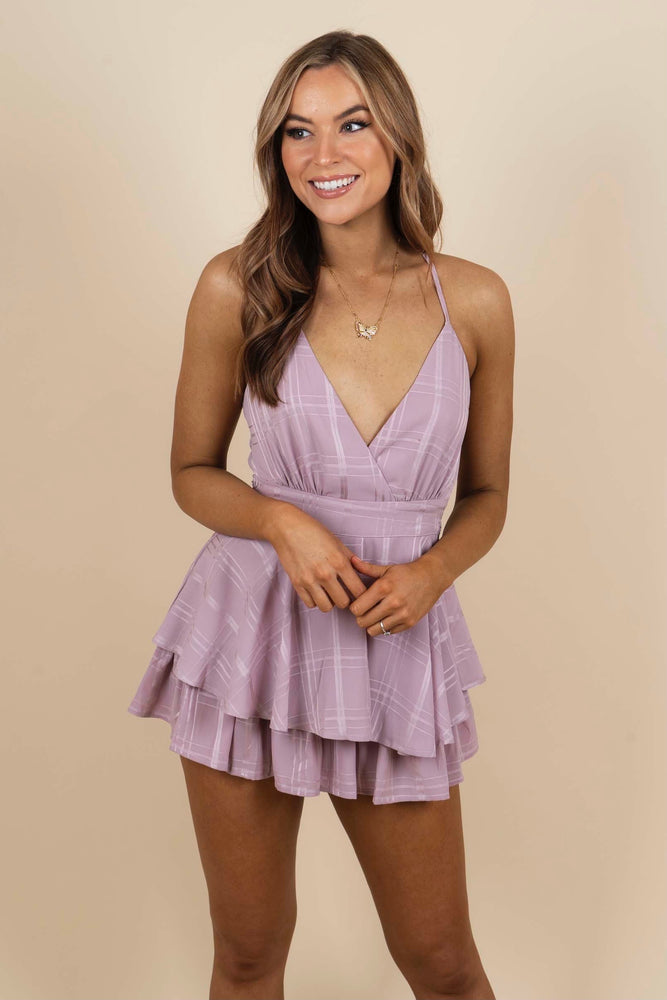 Imagine This Love Romper (Mauve)