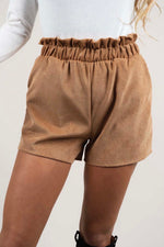 Graceful Love Shorts (Camel)