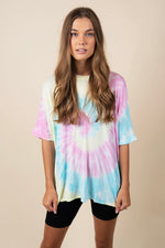 Groovy Baby Top (Pink Multi)