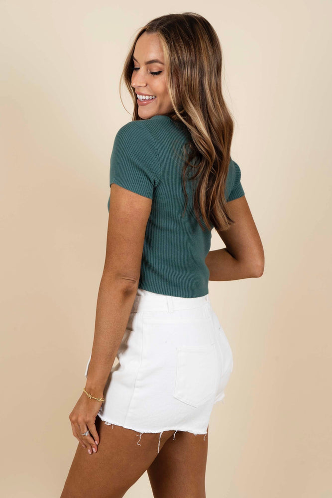 Lost In You Top (Teal)