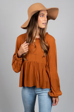 Essential Love Top (Rust)