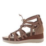 OTBT - ESCAPADE in WARM PINK Wedge Sandals