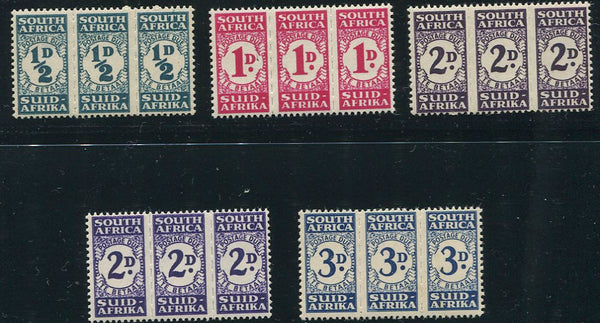 SA 1943-44  POSTAGE DUE SET-SACC D29-32 & 31a