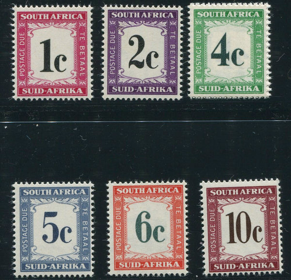 SA 1961  POSTAGE DUE SET-SACC D44-9