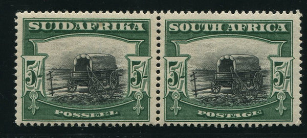 SA 1927 5/- LONDON PRINTING MNH - SACC 38