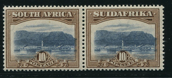 SA 1927 10/- LONDON PRINTING MNH - SACC 39