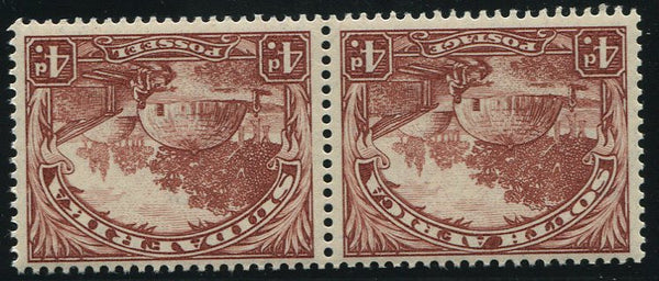 SA 1932  ROTO 4d MNH - SACC 47a INVERTED WATERMARK