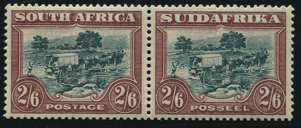 SA 1932 ROTO 2/6 GREEN & BROWN - MNH - SACC 50