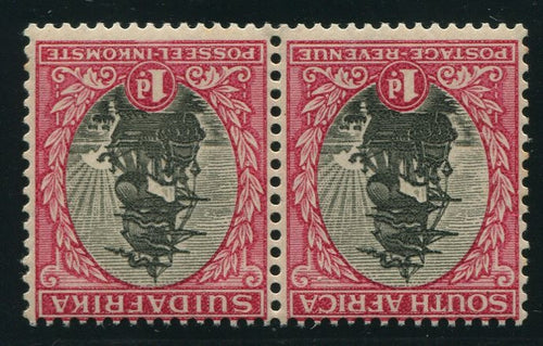 1930 ROTO 1d INVERTED WATERMARK- MNH - SACC 43a