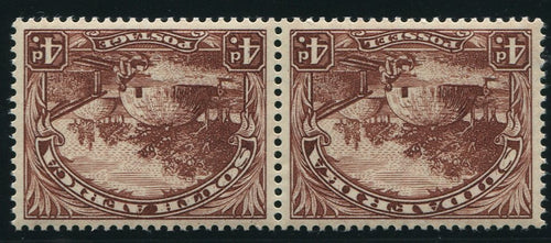 1932 ROTO 4d REDRAWN INVERTED WATERMARK- MNH - SACC 47bb