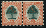 1932 ROTO 6d UPRIGHT WATERMARK- MNH - SACC 48a