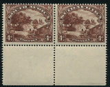 1936 ROTO 4d BLUE CHOCOLATE BROWN MNH - SACC 47ba