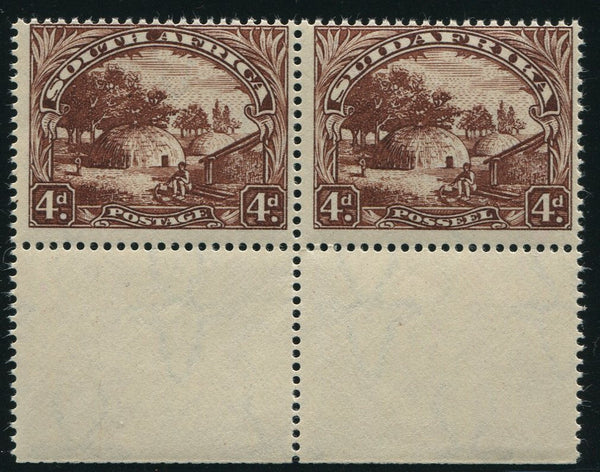 1936 ROTO 4d  CHOCOLATE BROWN MNH - SACC 47ba