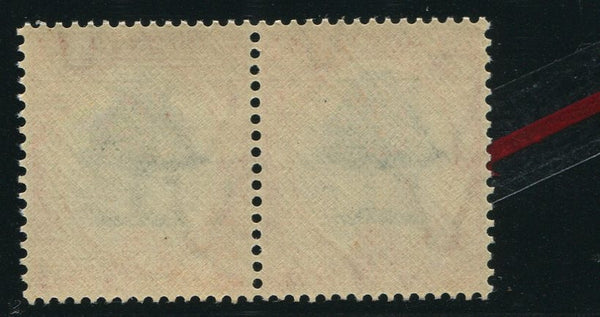 "1937 6d  FAINT BACKGROUND ""MOLE HILL "" VARIETY MNH- SACC 60cv"