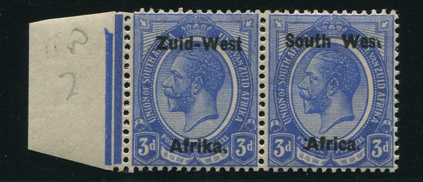 "SWA 1923 3d ""BROKEN 'T' IN WEST""   MNH - SACC 4"