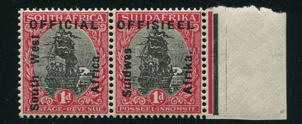 SWA 1926 1d OFFICIAL OVERPRINT MNH - SACC 02