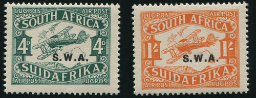 SWA 1930 AIRMAILS MNH- SACC 97/8 TYPE 2