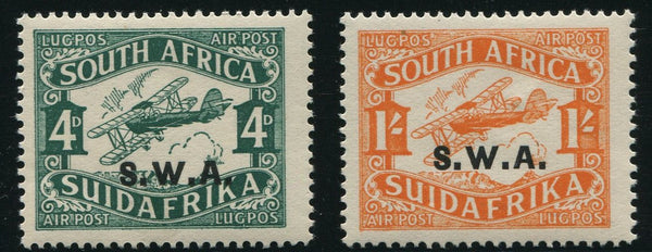SWA 1930 AIRMAILS MNH- SACC 99/100 TYPE 3
