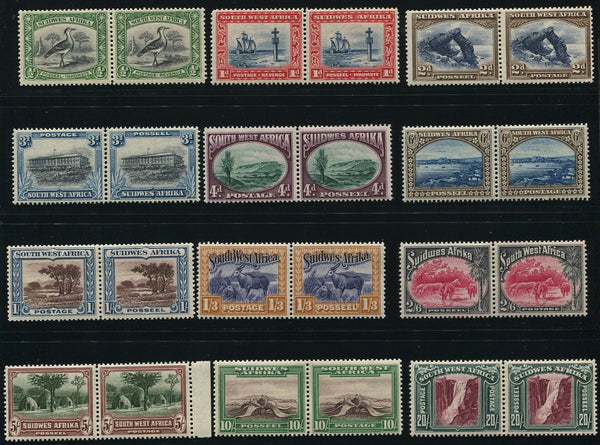 SWA 1931 PICTORIALS MNH - SACC 103/114