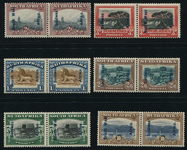 SWA 1926-7 LONDON PICTORIALS MNH - SACC 75/80