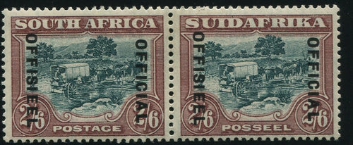 1930-1947 2/6 OFFICIAL 18mm MNH -SACC O19