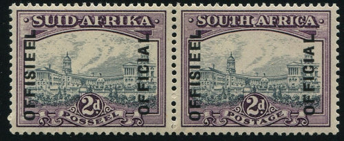 1938 2d GREY & PURPLE OFFICIAL MNH -SACC O38