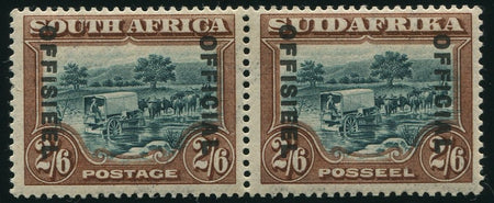 1935-1951 5/-  OFFICIAL 'OFFICIAL AT LEFT'  MNH -SACC O35