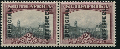 1928-9   2d   OFFICIAL MINT -SACC O5