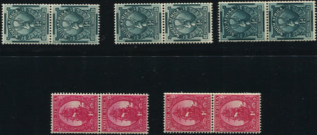 1961 NEW CURRENCY DEFINITIVES  MNH- SACC 184-196