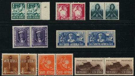 SA 1925 AIRMAILS  BLOCKS OF FOUR MNH