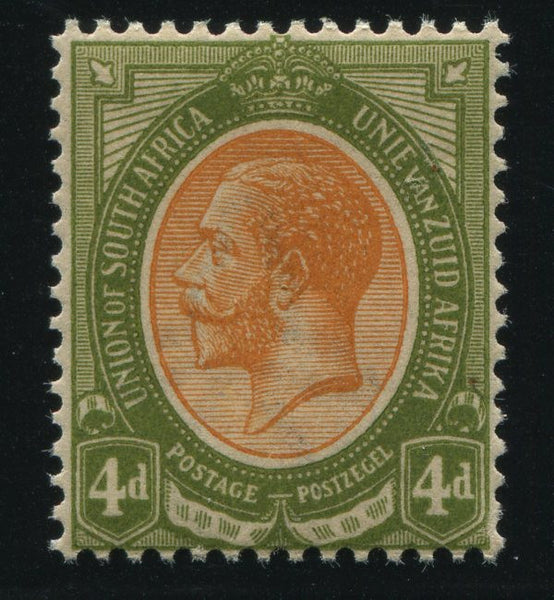 1913 KGV 4d INVERTED WATERMARK - MNH - SACC 9b