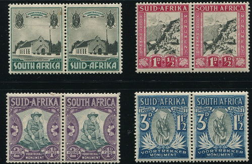 SA 1933 VOORTREKKER MEMORIAL FUND SET  MNH - SACC 51-4