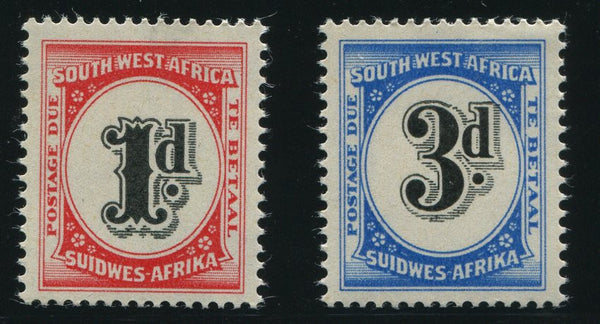SWA 1960 POSTAGE DUES   MNH - SACC D54-55