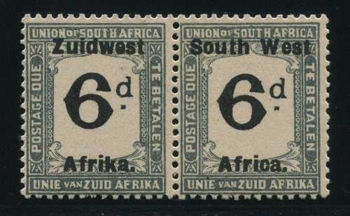 SWA 1924 6d POSTAGE DUE   MNH - SACC D20