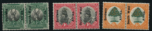 SWA 1926 LONDON PICTORIALS   MNH - SACC 64-66