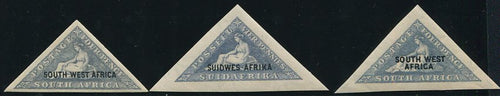 SWA 1926-7 TRIANGLES  MNH - SACC 70,71,72