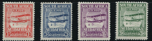 SA 1925 AIRMAILS  SET OF FORGERIES MNH