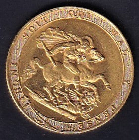 GREAT BRITAIN 1817 GEORGE 111 SOVEREIGN A.EF