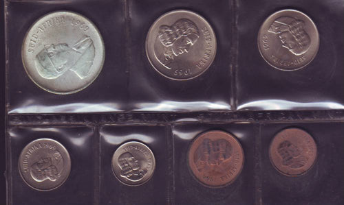 1969 Uncirculated Set 1c to R1