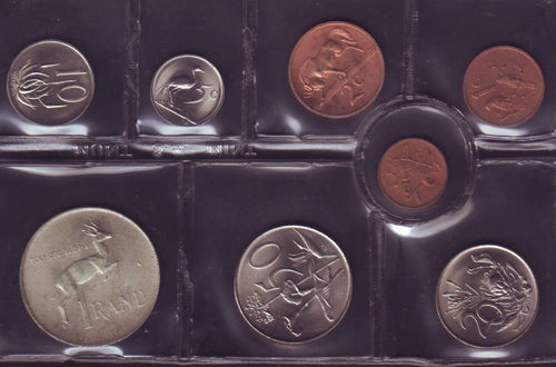 1972 Uncirculated Set 1c to R1
